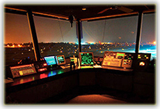 Fresno Air Traffic Control Tower Cab